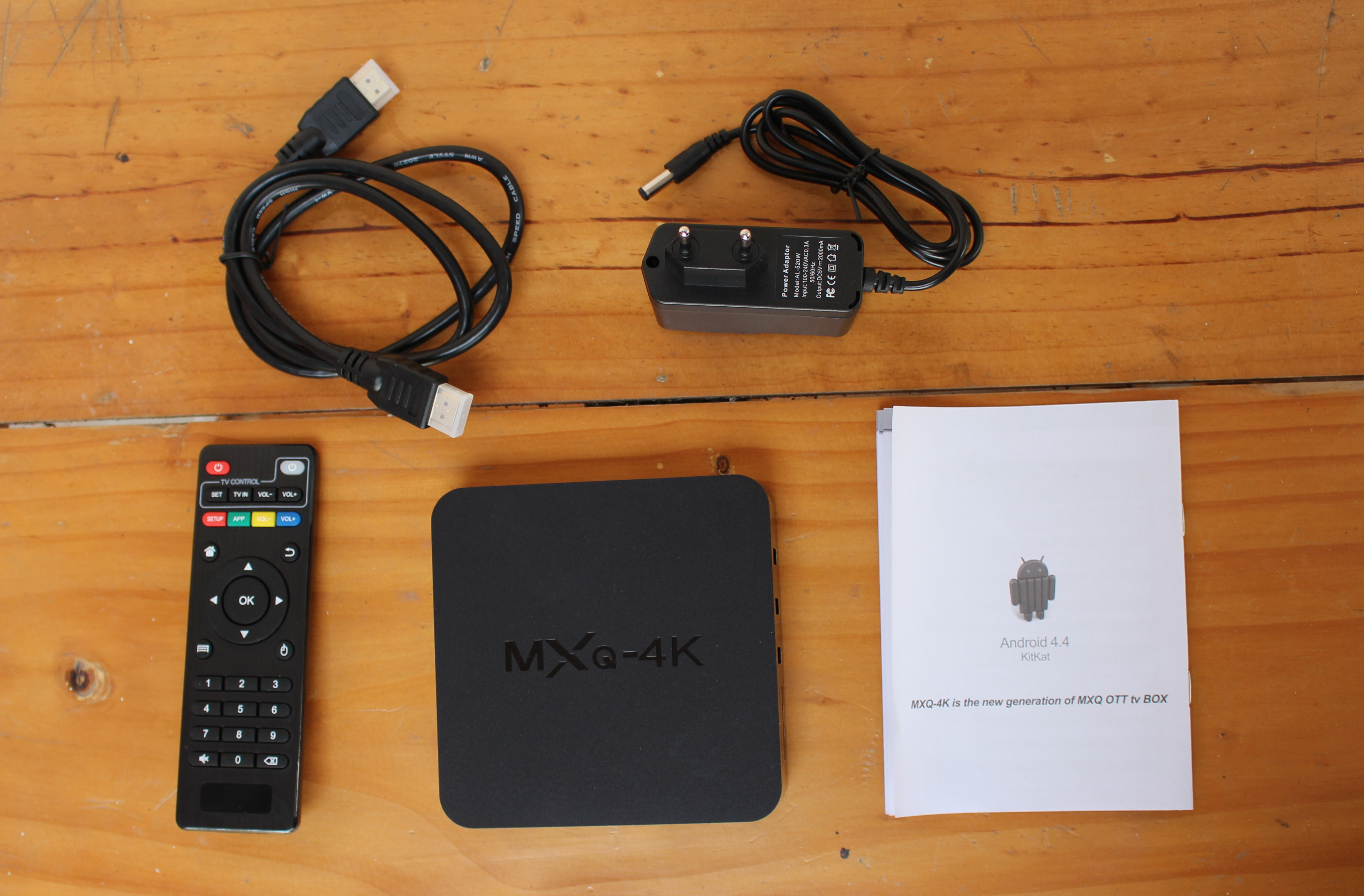 como instalar tv box mxq 4k