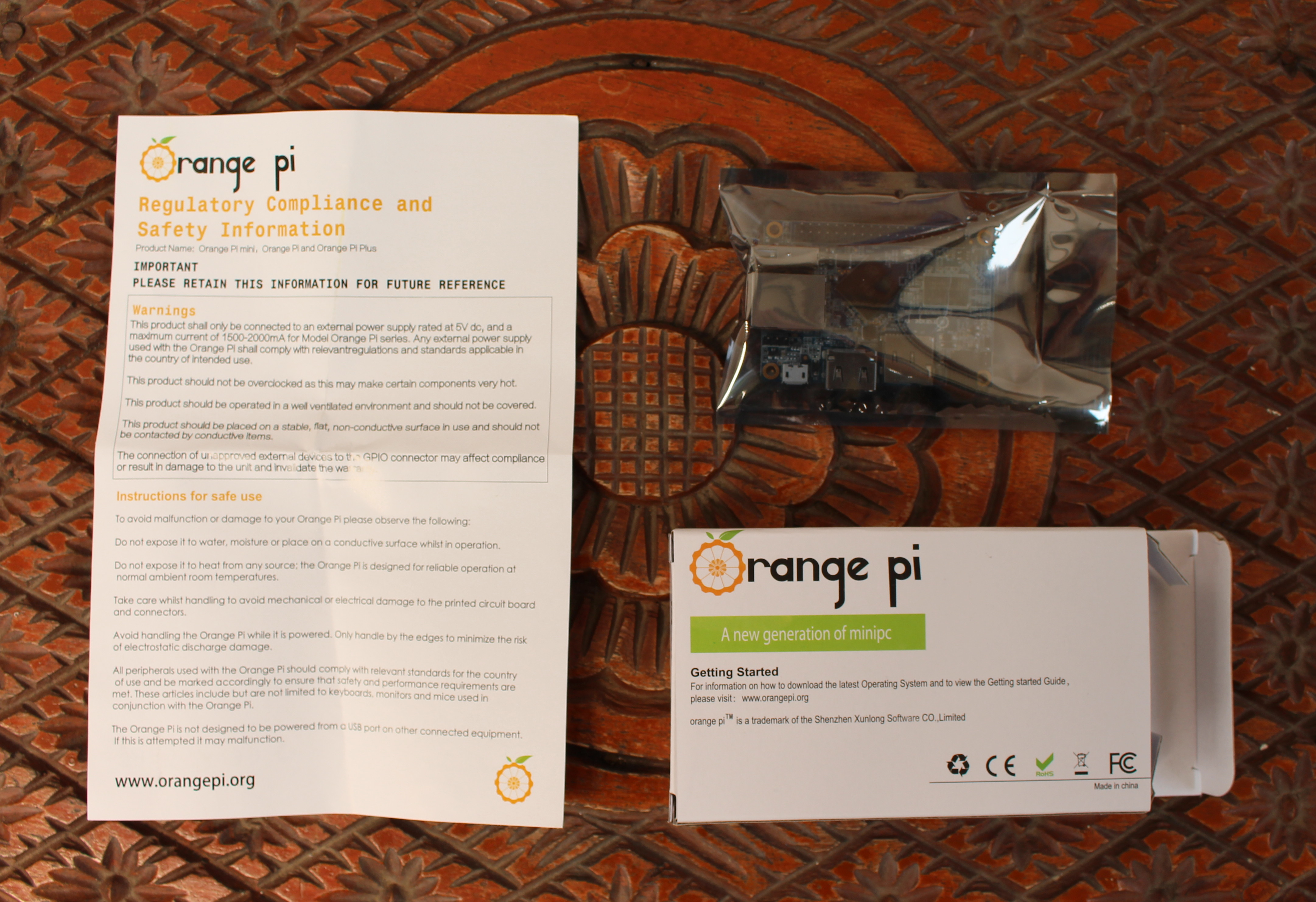 Orange Pi One Board Quick Start Guide with Armbian Debian
