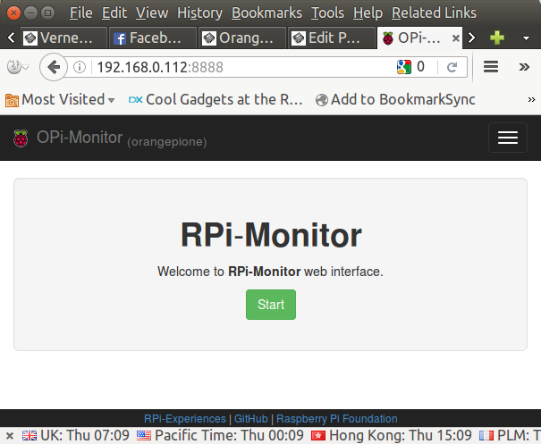 RPi-Monitor is a Web-based Remote Monitoring Tool for ARM