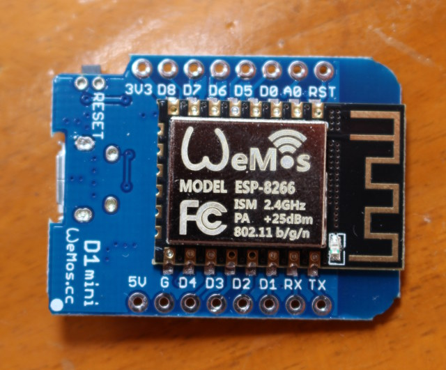 Getting Started with Wemos D1 mini ESP8266 Board, DHT