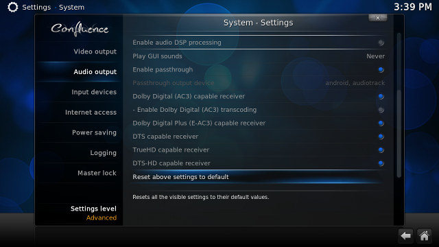 Kodi_HD_Audio_Pass-through_Settings