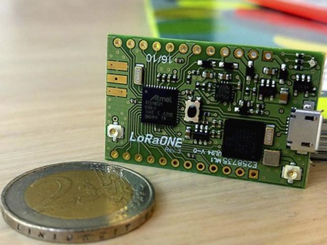 Loraone Is A Small Lora Iot Development Board Based On