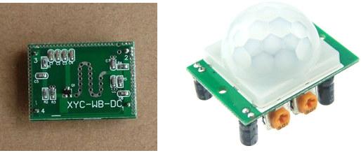 XYC Microwave Radar Module vs HC-SR05 PIR Sensor