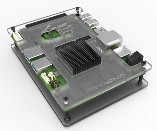 Board with Heatsink and Optional Acrylic Enclosure