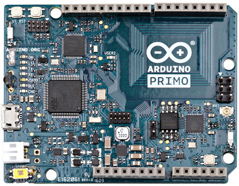 Arduino Primo Board Supports WiFi, Bluetooth LE, and NFC
