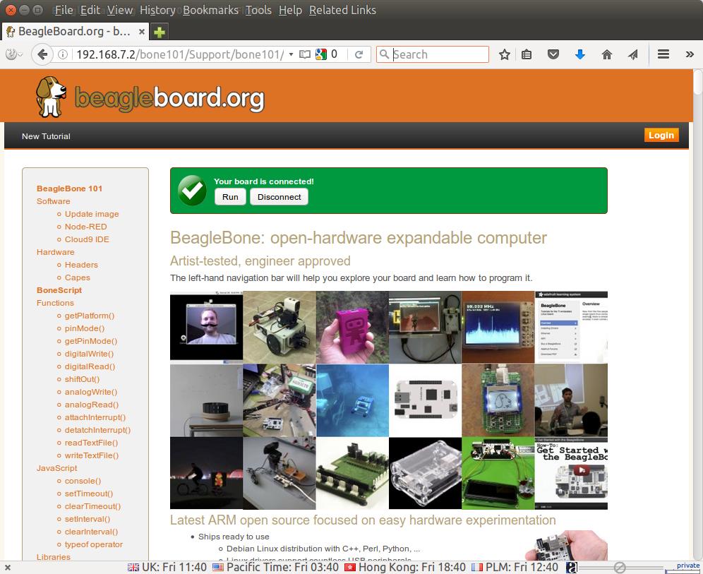 Getting Started with Beaglebone Green Wireless Development Board