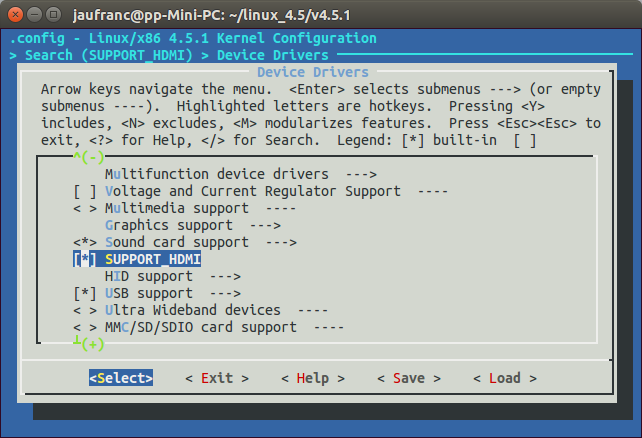 CONFIG_SUPPORT_HDMI