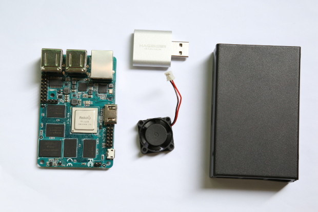 MiQi, Fan, Case, and USB Dongle