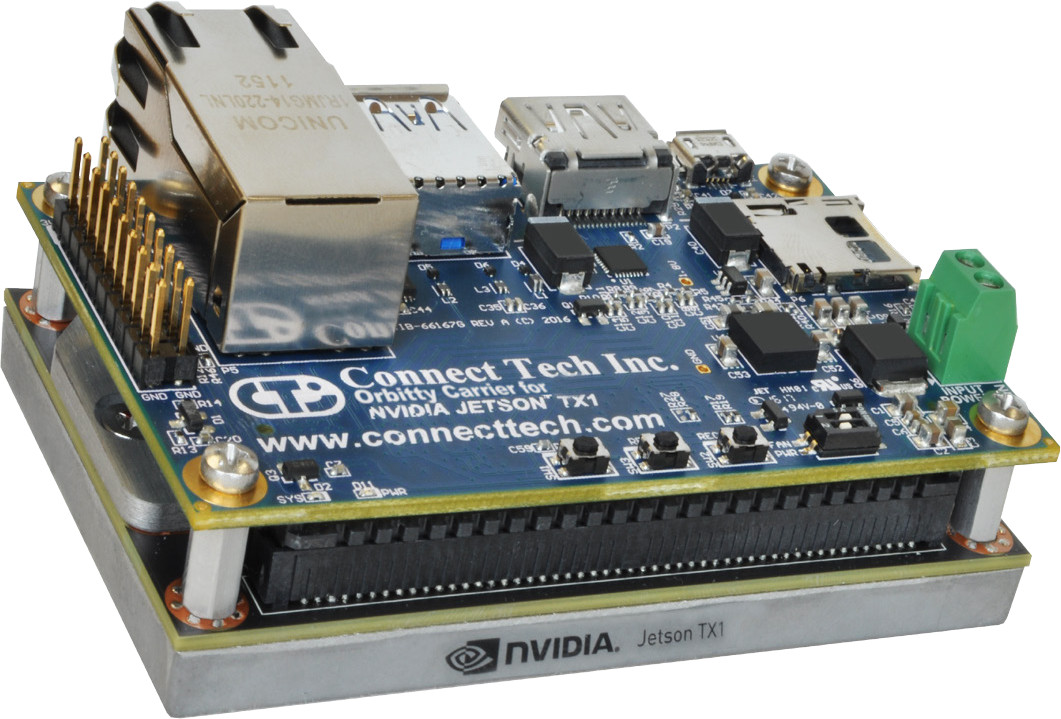 Orbitty Is A 175 Carrier Board For Nvidia Jetson Tx1