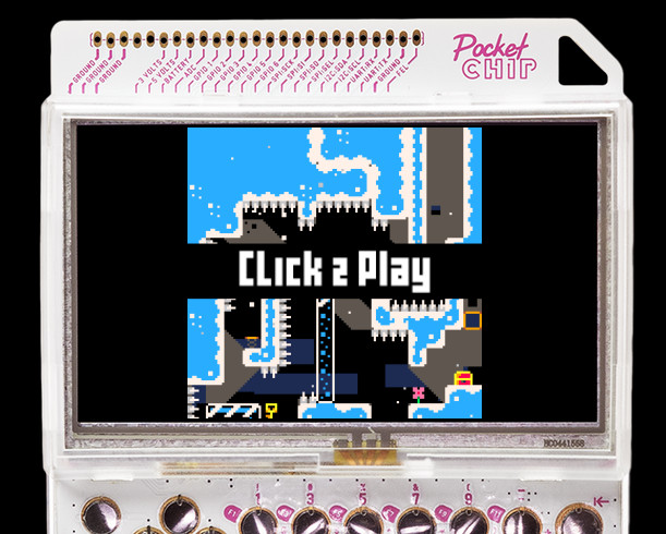 PocketCHIP Hackable & Portable Linux Game Console Can Be Pre-ordered