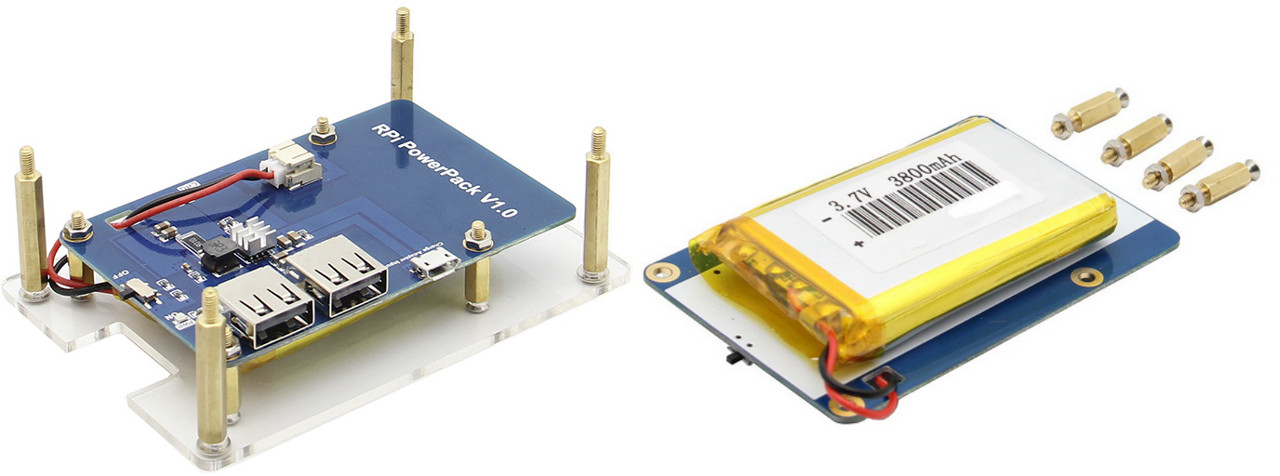 Enclosure Amp Battery Kit For Raspberry Pi Boards Sells For 22