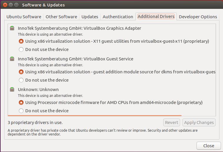 Fix for Ubuntu 16 04