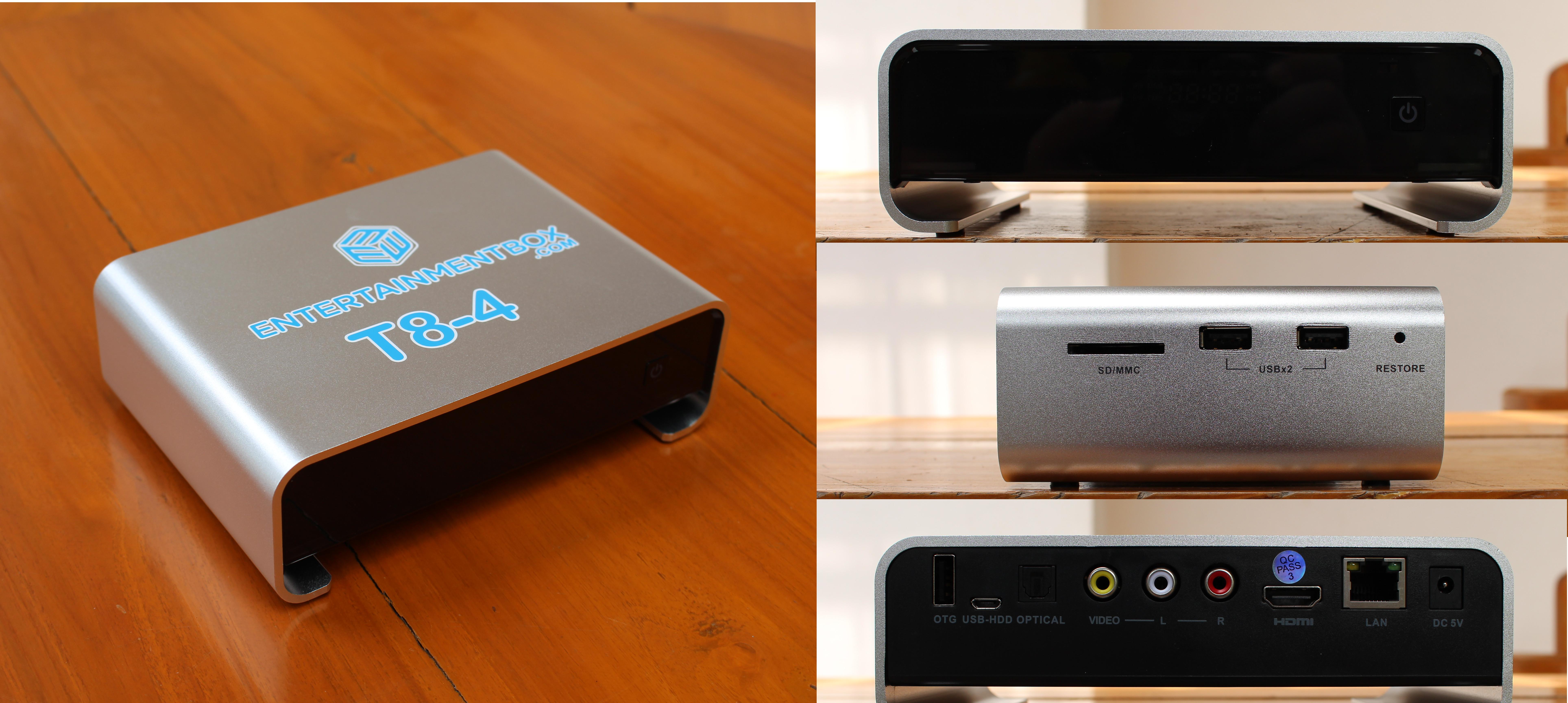 EBox T8-4 TV Box and Ipega Bluetooth Game Controller