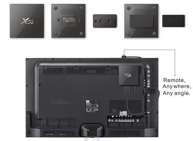 Shenzhen Tomato X96 Amlogic S905x Tv Box Is Designed To Be
