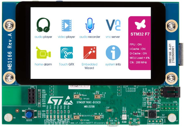 STMicro Unveils Two Low Cost STM32F7 ARM Cortex M7