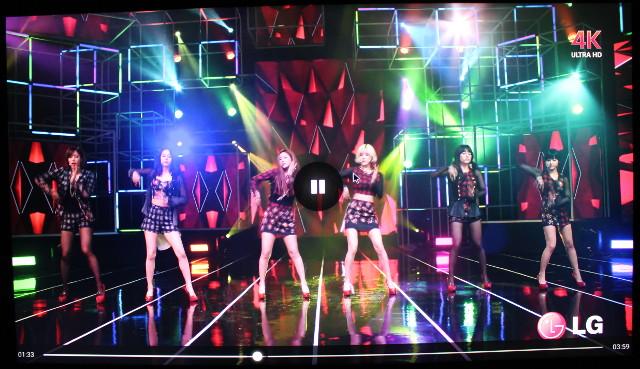 T-ara 4K VP9 Video @ 60 fps Played in Sunhed S3