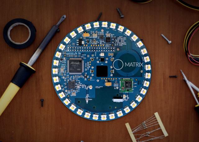 $99 MATRIX Creator Raspberry Pi Add-on Board Features Plenty