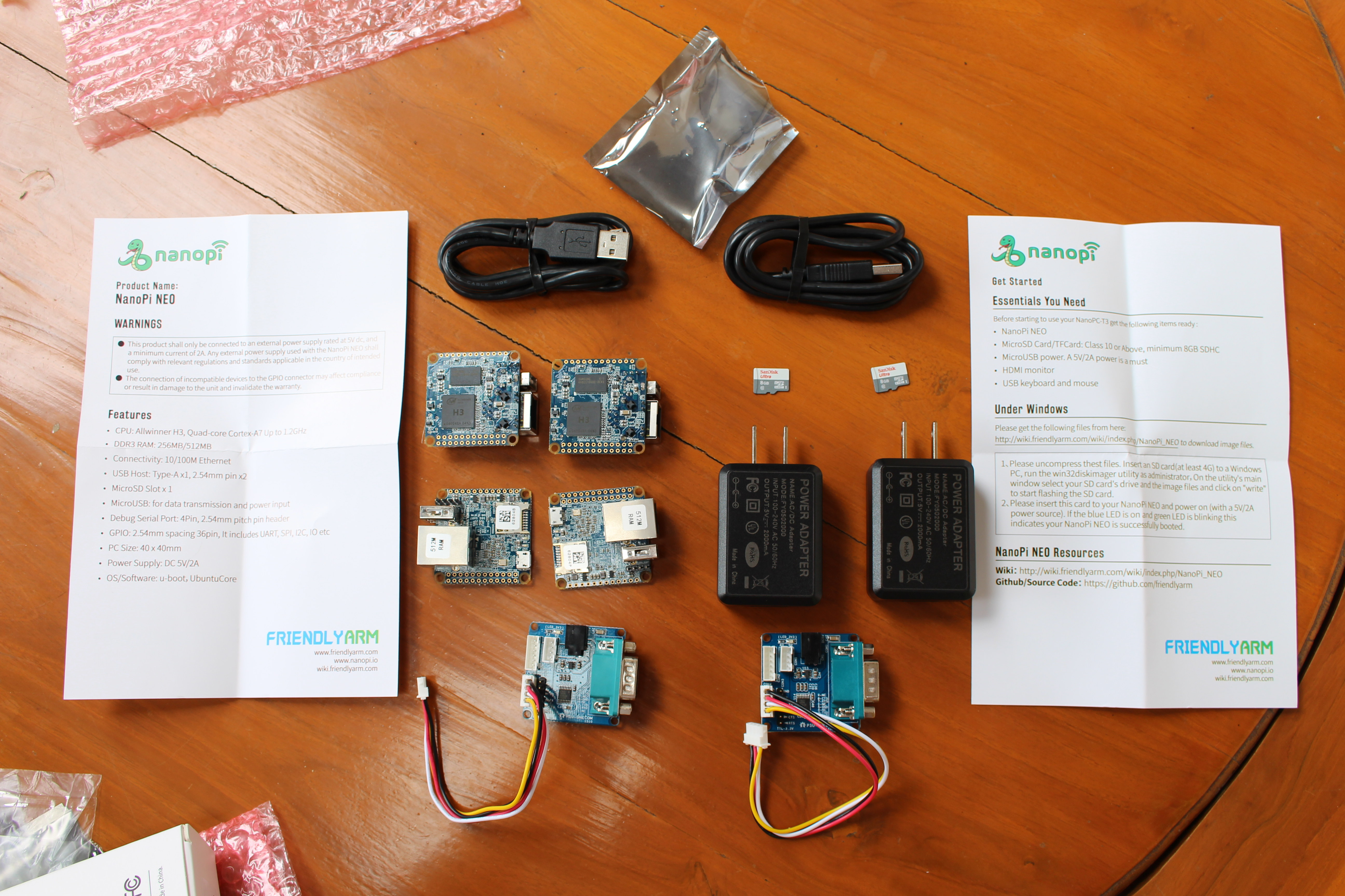 Getting Started with NanoPi NEO Development Board - Ubuntu Core Firmware