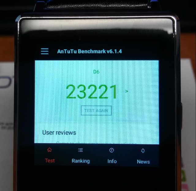 Review of No 1 D6 Android Smartwatch Powered by Mediatek