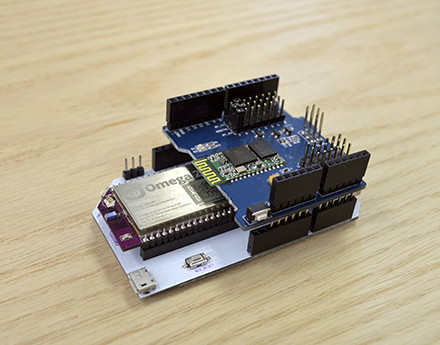 Omega2 with Dock and Arduino Shield