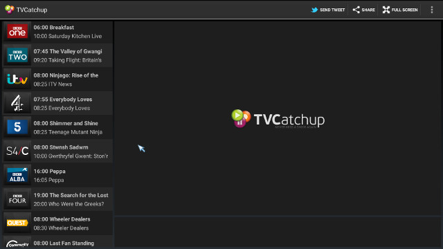 TVcatchUp_Channels