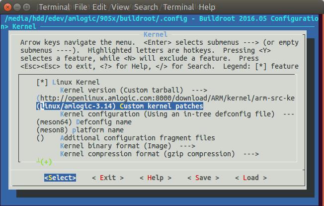 Amlogic_S912_Linux_Buildroot
