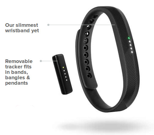 fitbit introduces charge   flex  fitness trackers