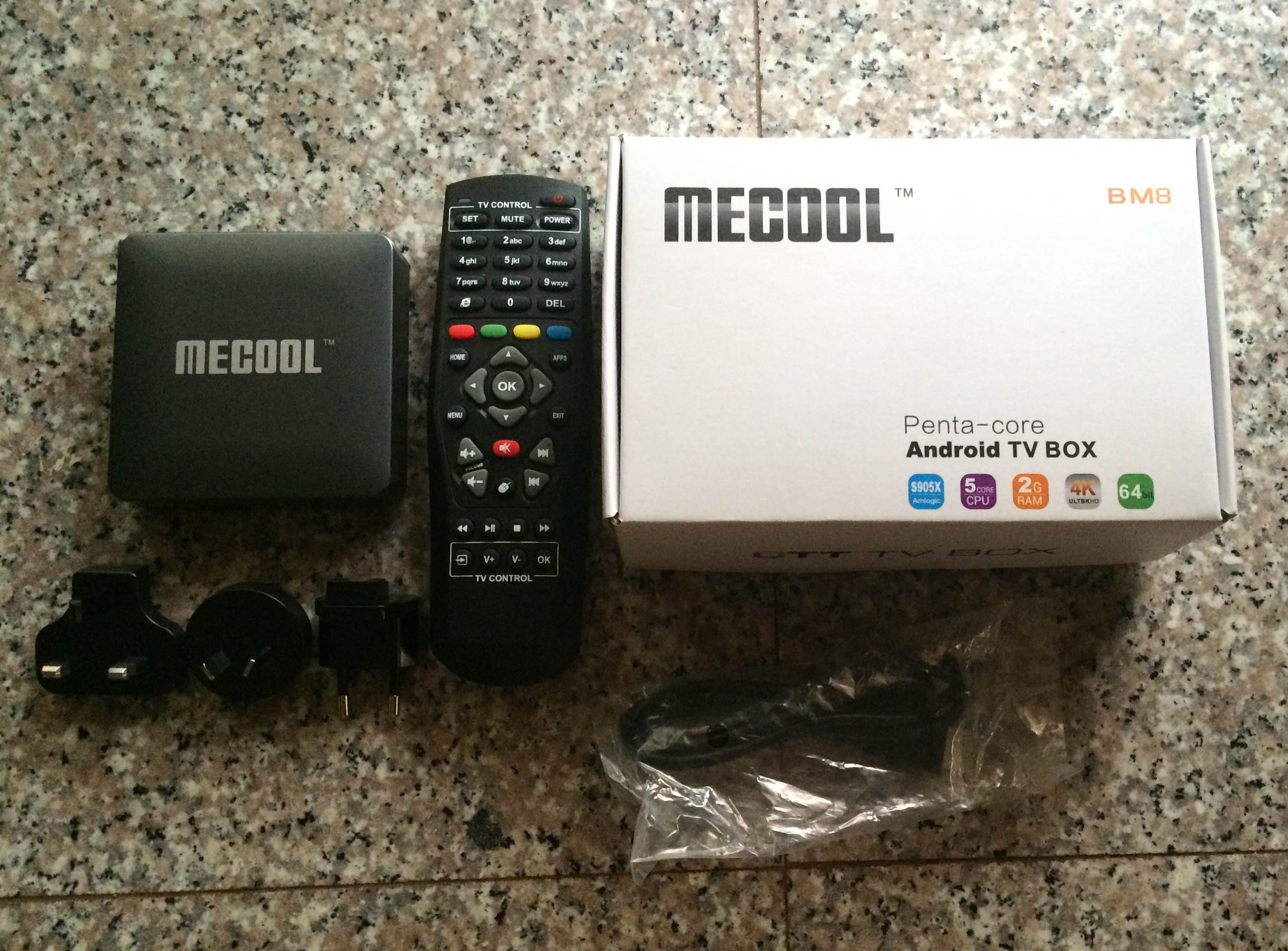 Mini Review of MECOOL BM8 TV Box with Android 6 0 and Kodi 17 0