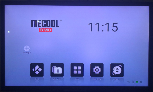 Mecool_BM8_Android_Launcher