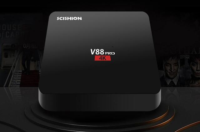 Kết quả hình ảnh cho Scishion V88 PRO TV Box Review