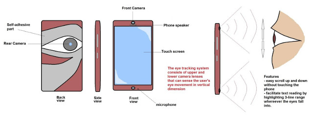 Eye-Tracking Phone Concept