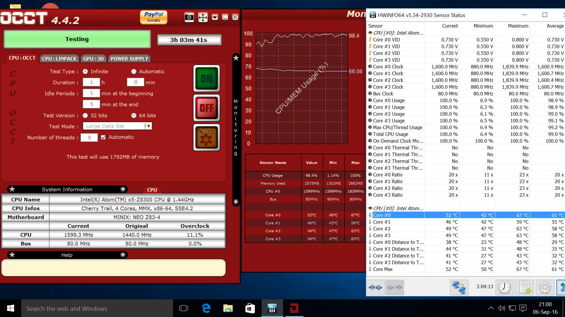 MINIX NEO Z83-4 mini PC Review – Part 2: Windows 10 and Benchmarks