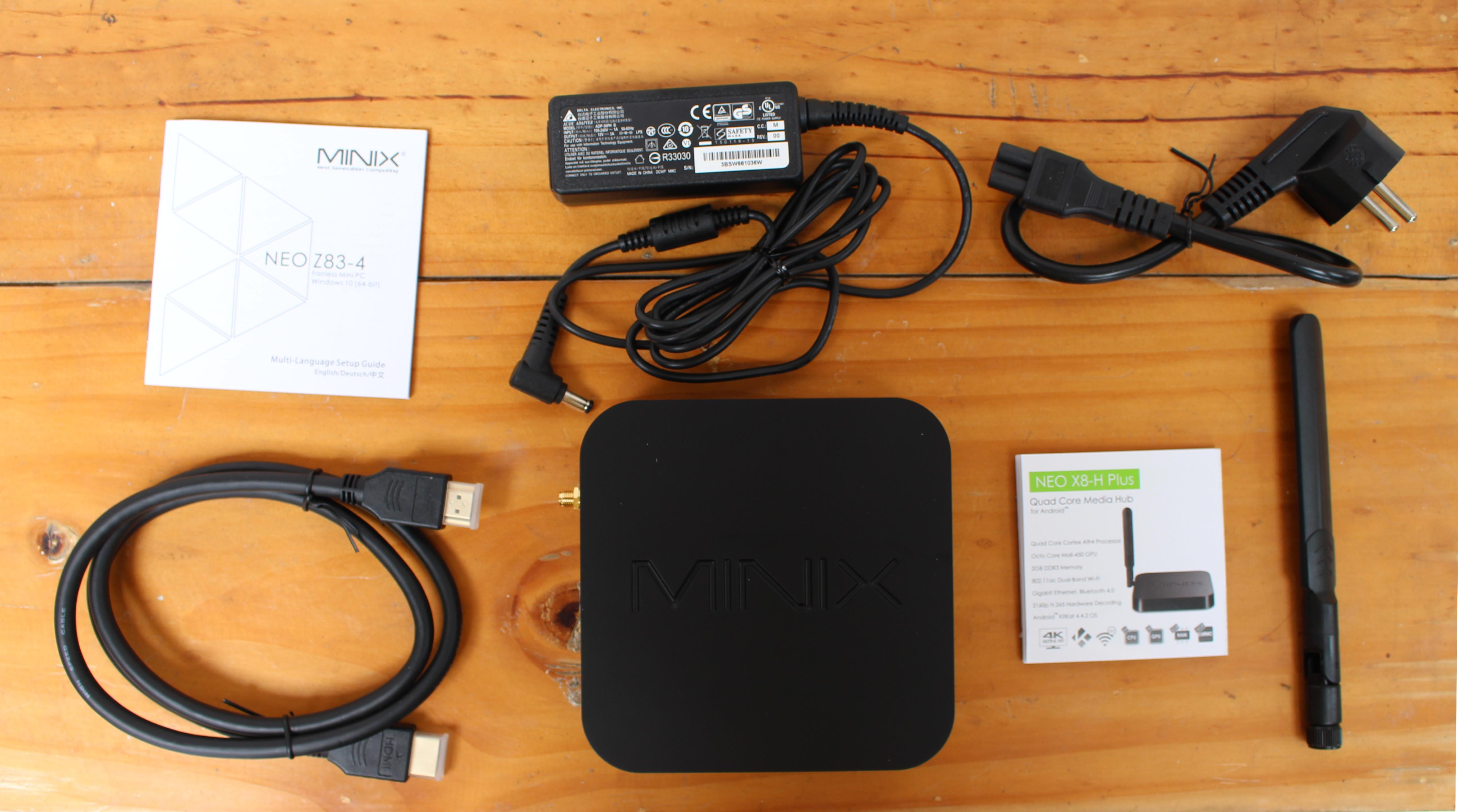 Minix Neo Z83 4 Fanless Mini Pc Review Part 1 Specs