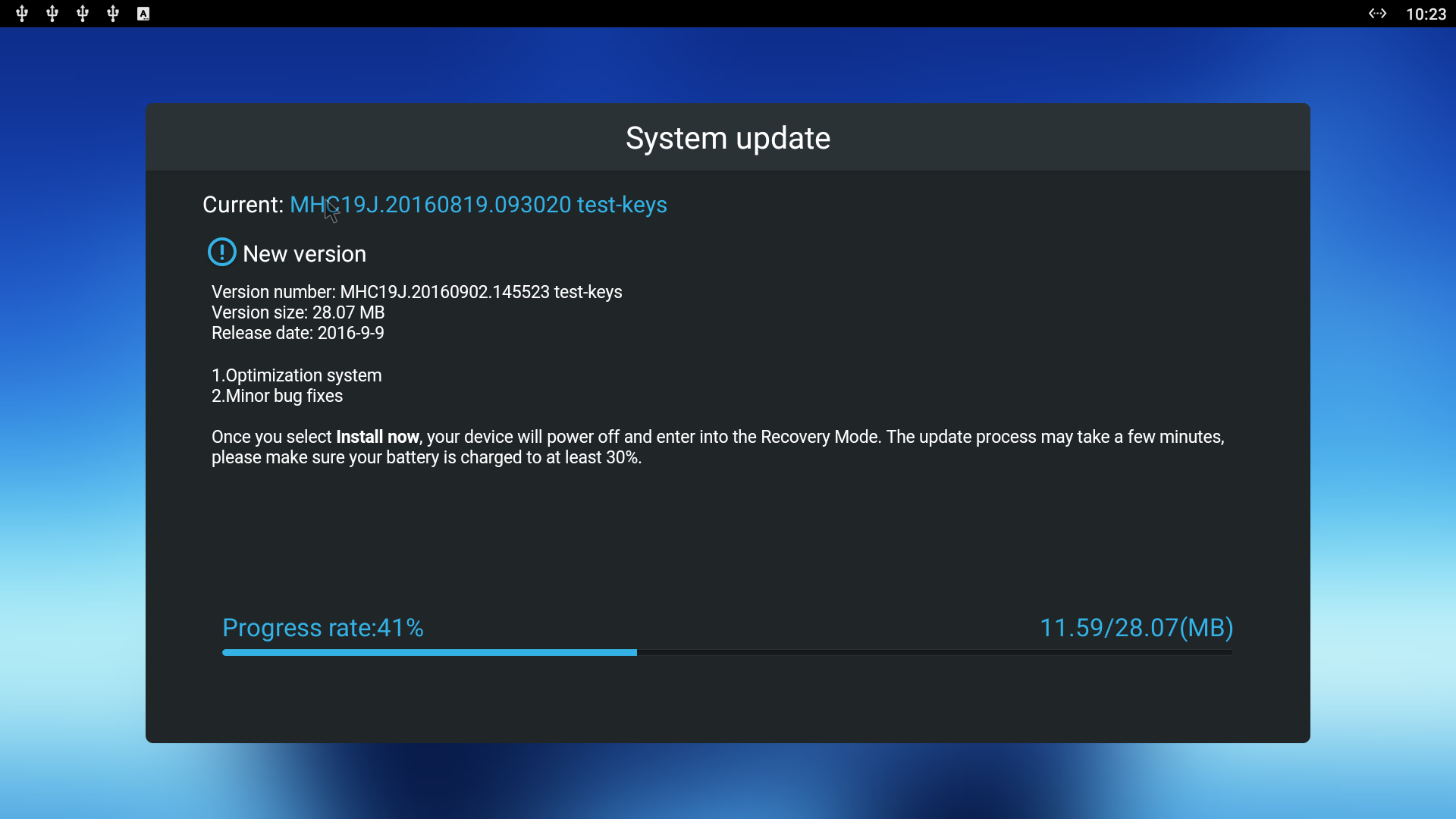 5.1 download update android