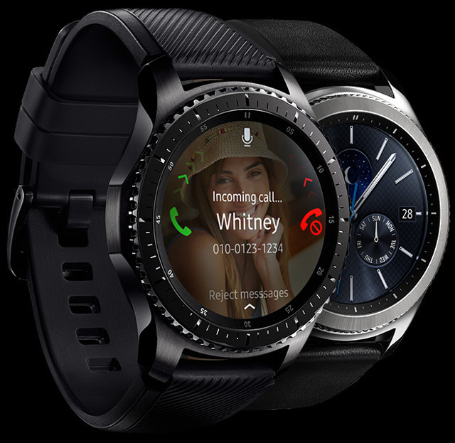Of exynos 7 dual 7270 processor used in galaxy gear s3 smartwatch