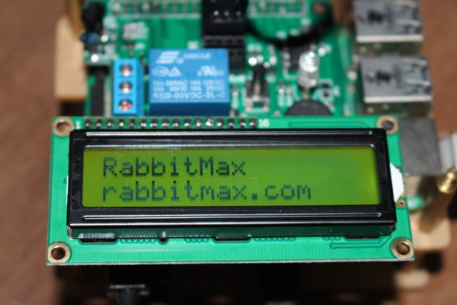RabbitMax Flex LCD Sample