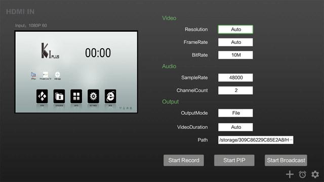 zidoo-x9s-hdmi-input-app