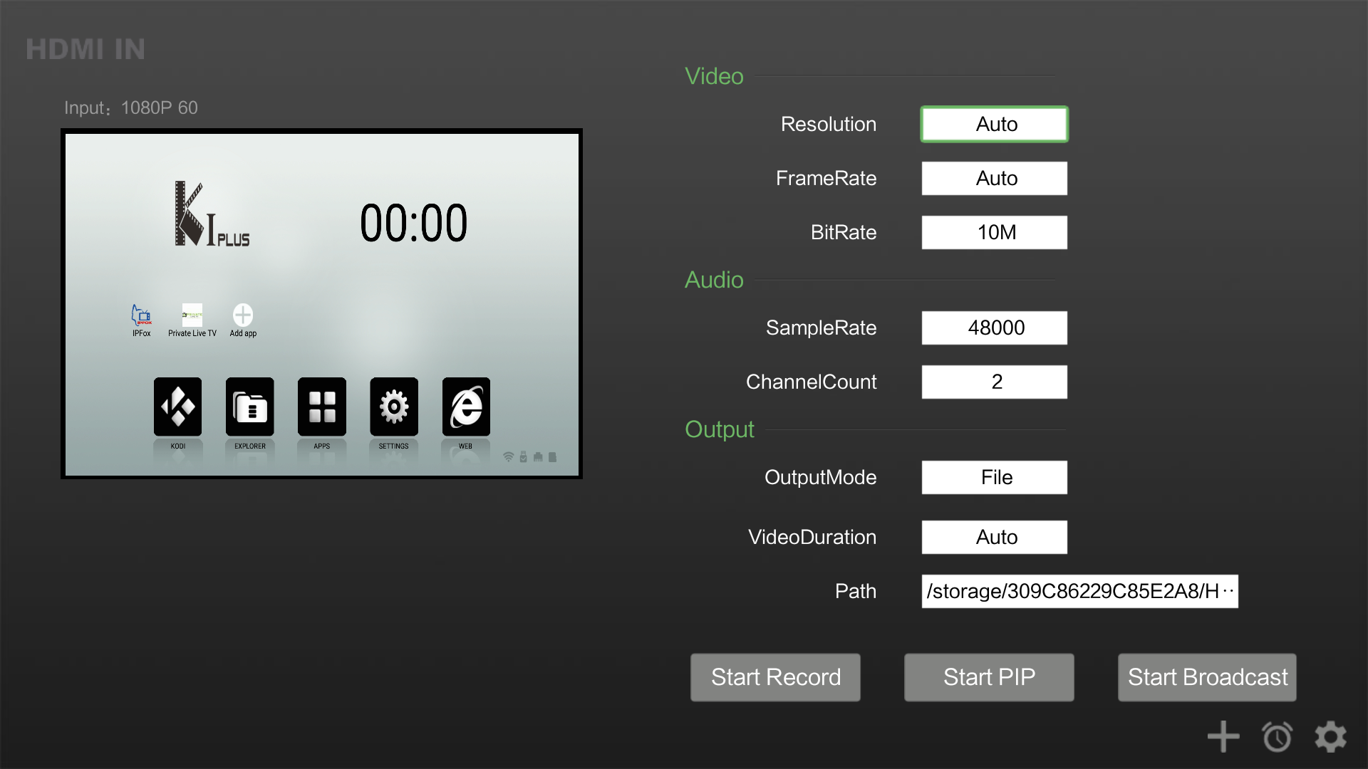 Zidoo X9S Android TV Box HDMI Input Testing - Video Recording, PiP