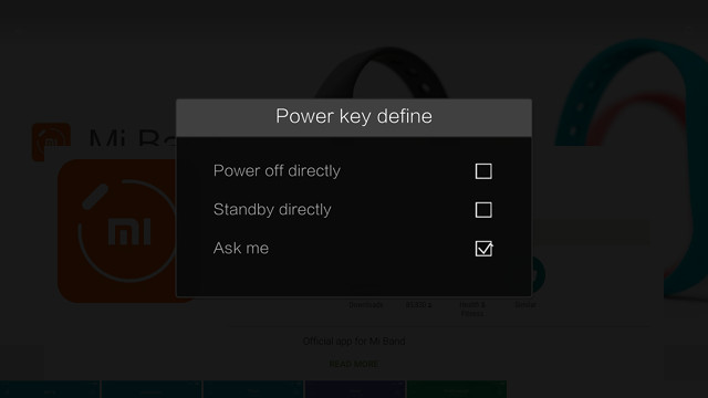 zidoo-x9s-power-key-define