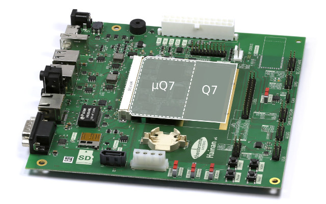 Theobroma Announces Rockchip RK3368 and RK3399 Qseven System-on-Modules