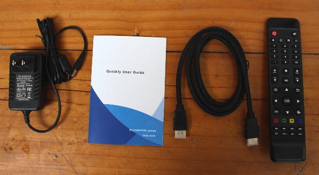 Комплект поставки приставки Eweat R9 Plus