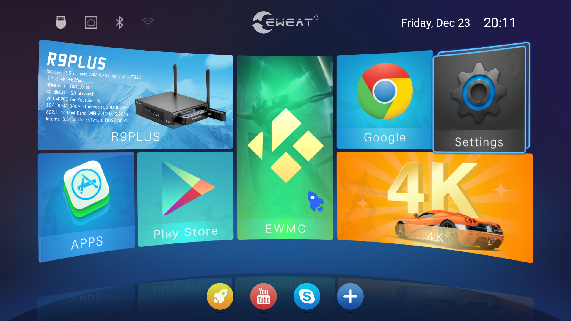 Eweat R9 Plus Tv Box Review Part 2 Android Openwrt And