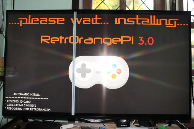 RetrOrangePi 3 0 Retro Gaming & Media Center Firmware