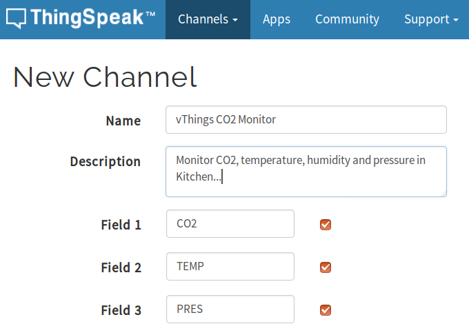 thingspeak-co2-monitor-thingspeak-channel-configuration