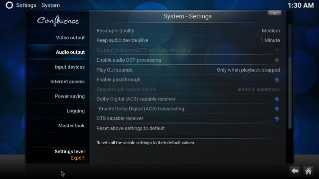 yokatv-kb2-kodi-audio-pass-through-settings
