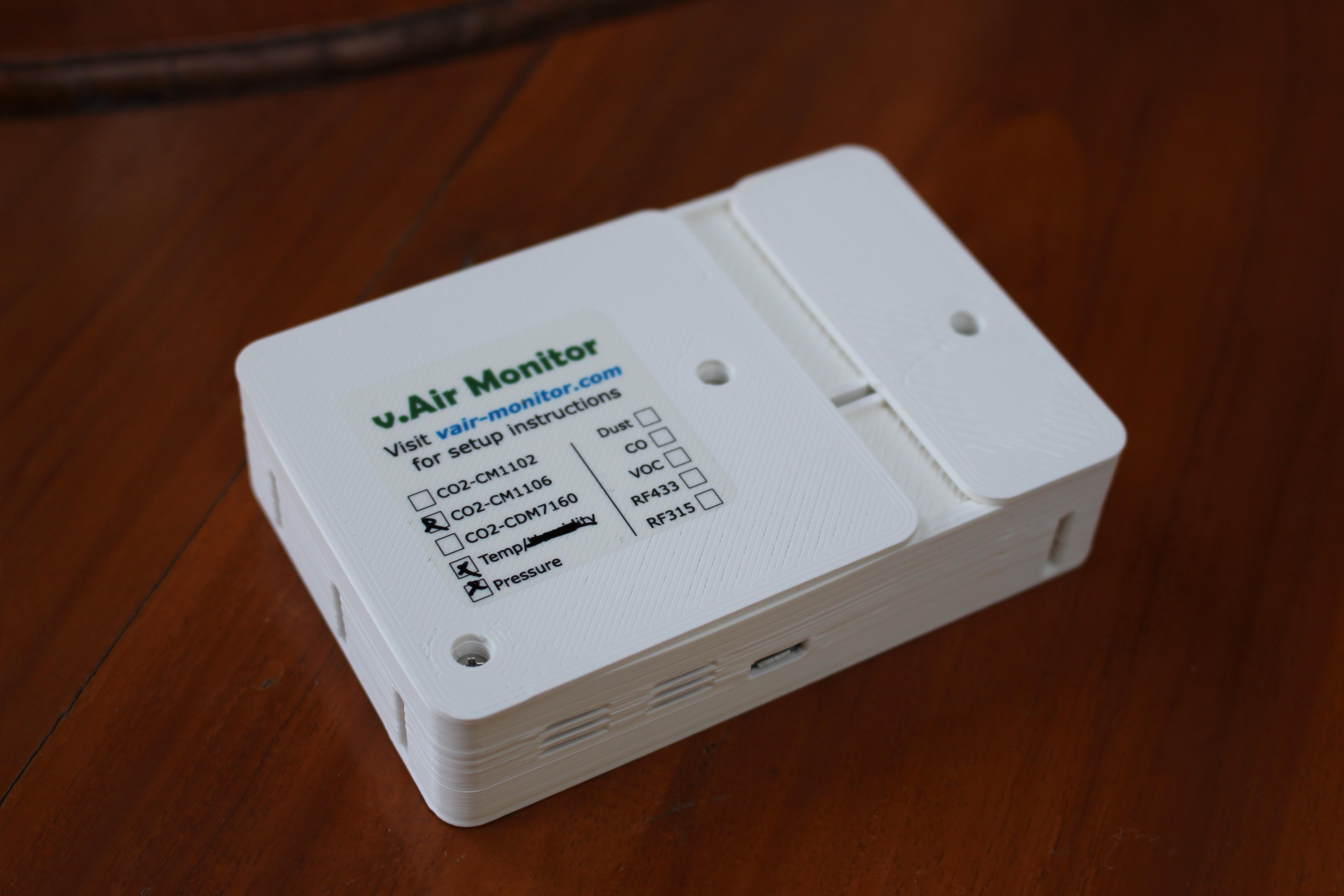Esp8266 Based Wireless Air Quality Amp Environmental