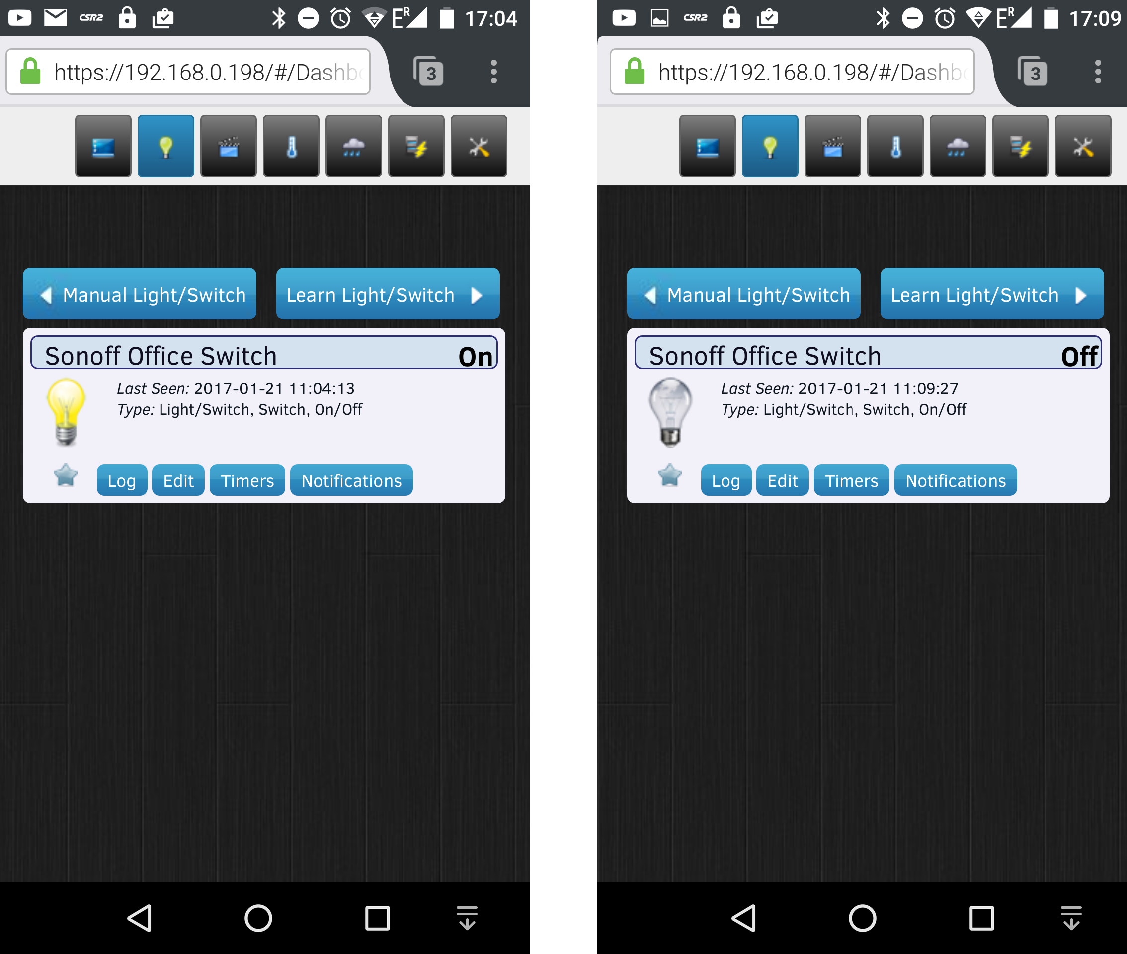 How to use Sonoff POW with ESPurna Firmware and Domoticz Home