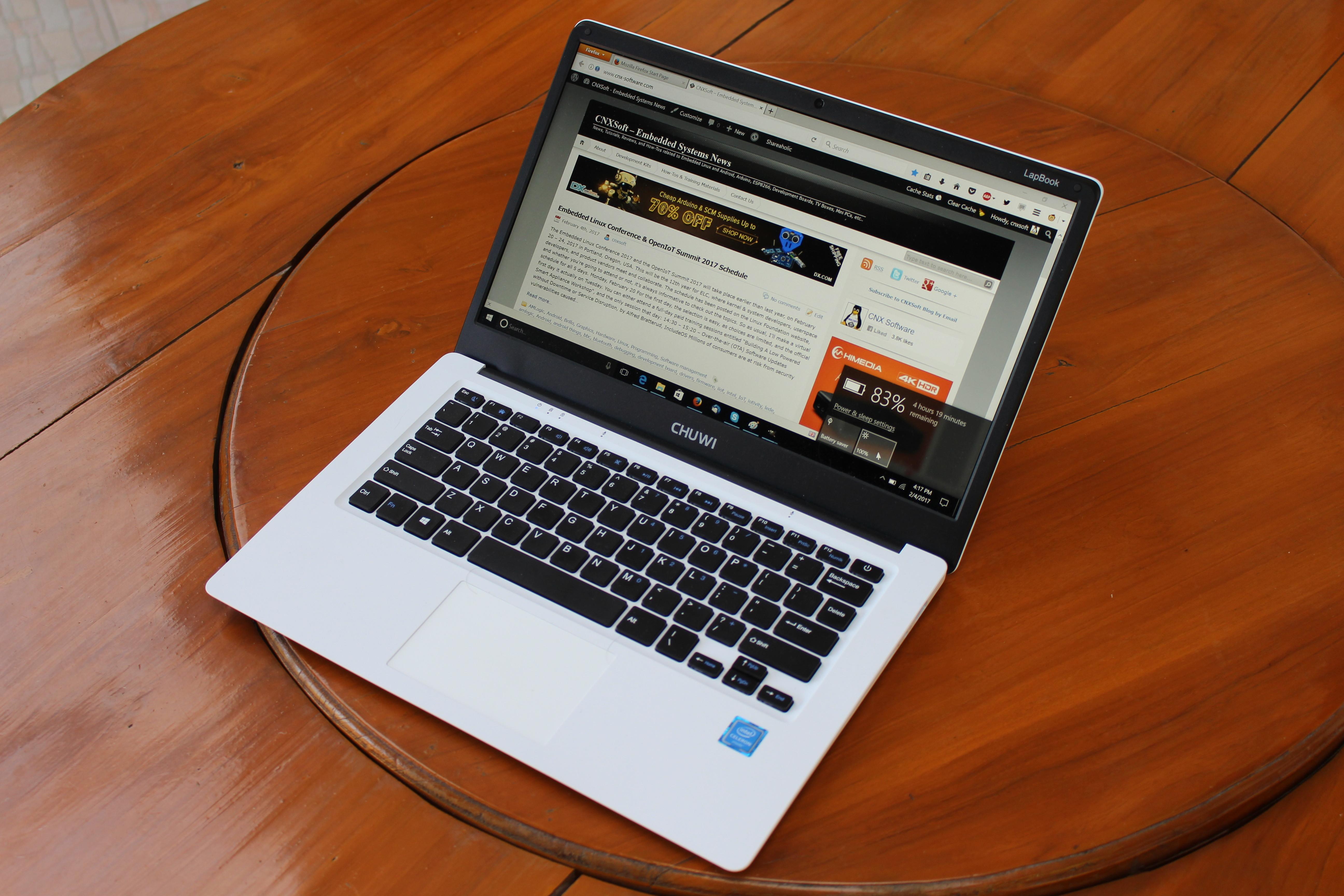 Chuwi Lapbook 14 1 Apollo Lake Laptop Review Part 2