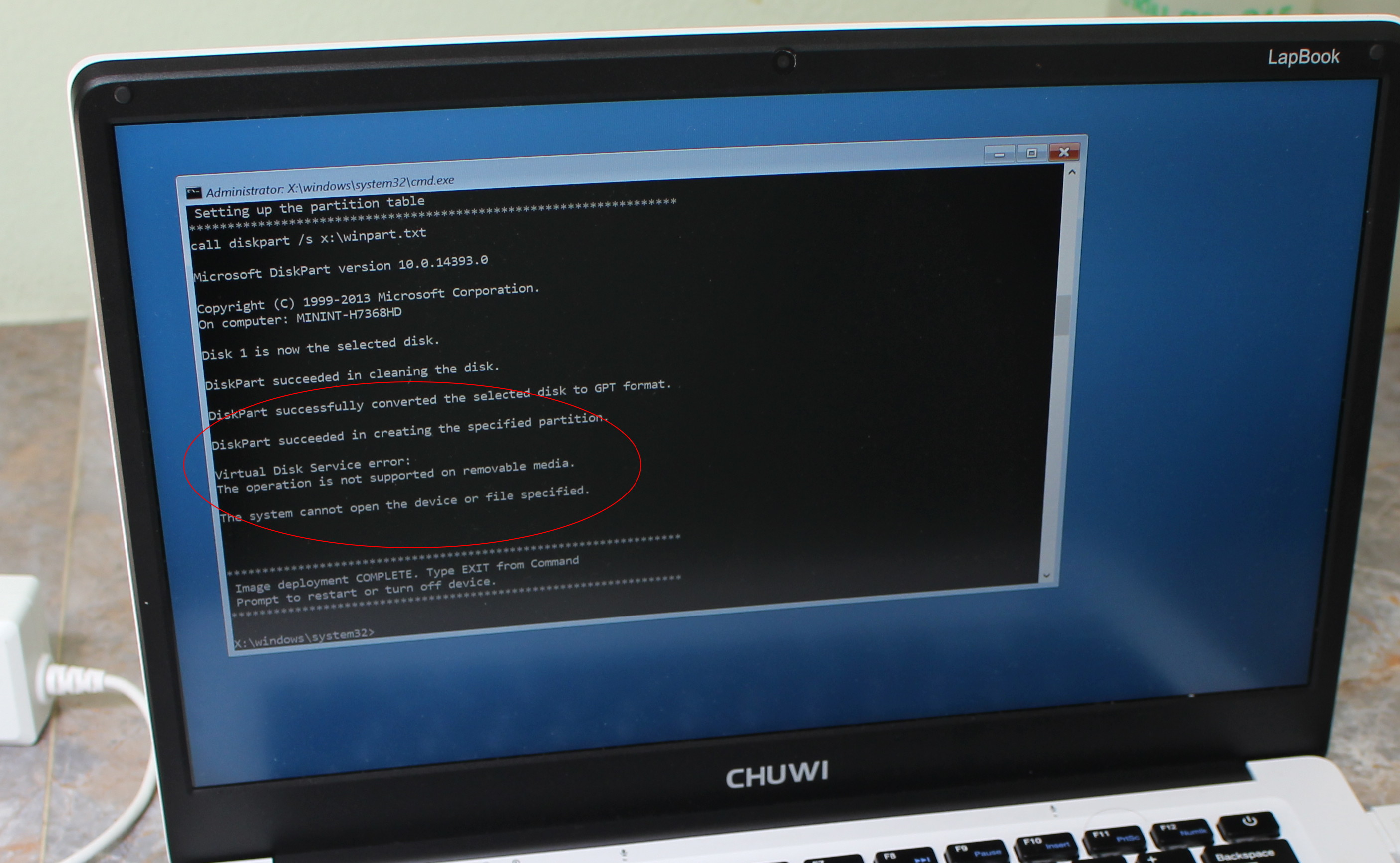 Chuwi lapbook 14 1 windows 10 firmware drivers and bios for Windows installer