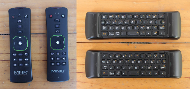 Difference between MINIX Neo A2 Lite air mouse and the Neo